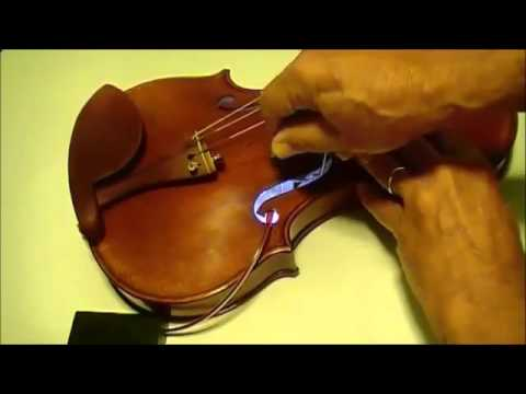 How to SET REMOVE and RESET VIOLIN Sound Post Using VSP classic tool the sound post mate
