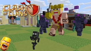 Monster School Clash Of Clans Fight Minecraft Animation