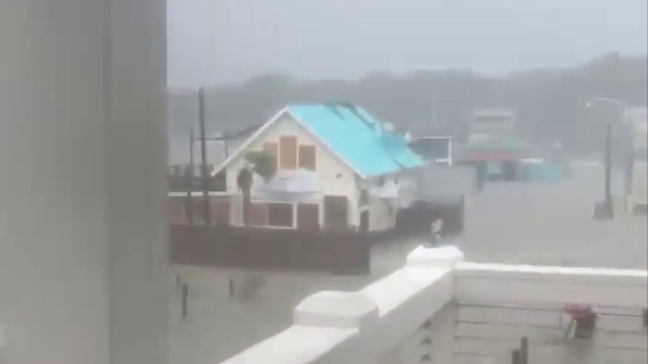 Flooding In Southport Nc Hurricane Florence September 14