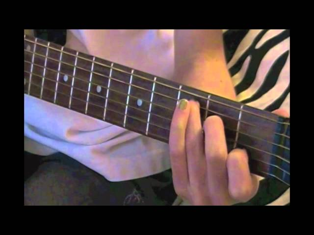 Easy Guitar Tutorial For Ours By Taylor Swift Mov Youtube