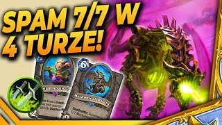 2/5 & 7/7 w 4 turze? NO PROBLEM! - APOTHECARY Rogue - Hearthstone Deck
