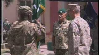 ISAF Change of Command Ceremony - Part 1