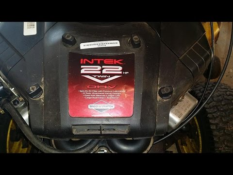 25HP Briggs and Stratton Intek | FunnyCat TV