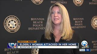 Sketch released of woman who attacked 77-year-old victim in Boynton Beach home invasion