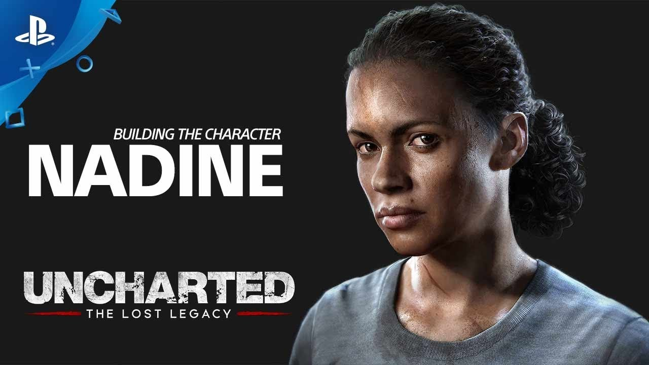 Uncharted The Lost Legacy Building The Character Nadine Ps4