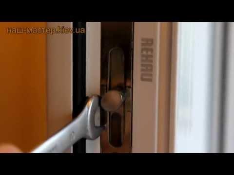 Регулировка пластиковых окон и дверей своими руками