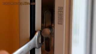 Регулировка металлопластиковых окон и дверей своими руками - наш-мастер.kiev.ua(Урок №5 из серии видео уроков