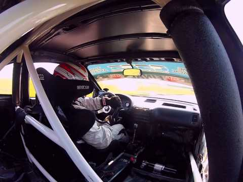 James Houghton breaking CSCS Unlimited FWD Lap record at TMP