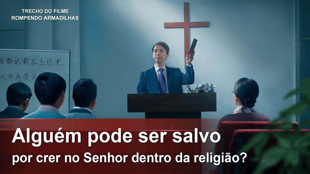 """Filme evangélico """"Rompendo armadilhas"""" Trecho 4 – Alguém pode ser salvo por crer no Senhor dentro da religião?"""