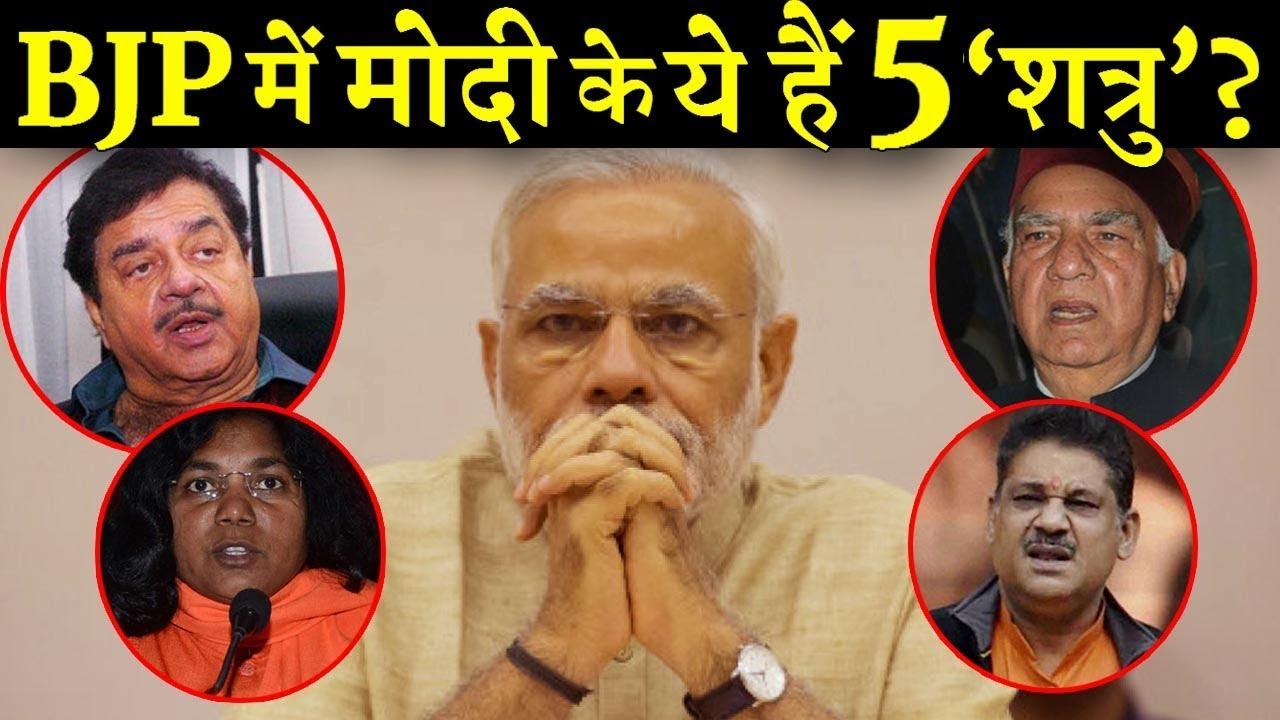 क्या 2019 में मोदी का खेल बिगाड़ेंगे बीजेपी के ये नेता ?  INDIA NEWS VIRAL
