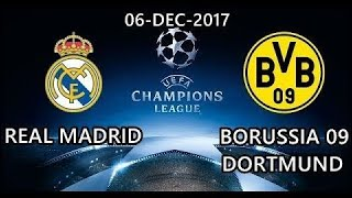 Real Madrid Vs. Borussia Dortmund | Uefa Champions League | Official Match Highlights