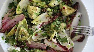 Super Healthy Quick Salad with Avocado Belgian Endive - Vegan Recipe - Heghineh Cooking Show