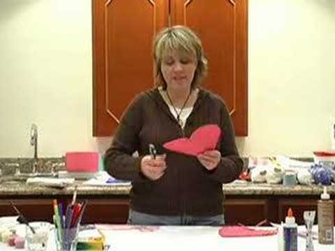 Sunday School Crafts - Heart Pockets