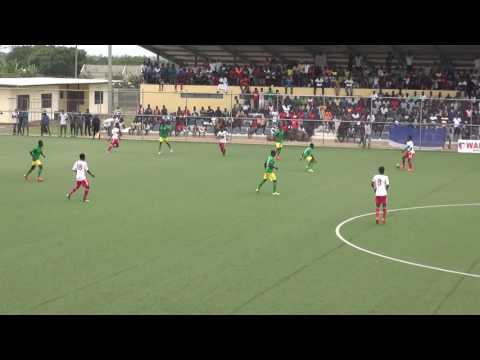 FULL MATCH OF GHANA PREMIER LEAGUE - WAFA SC  VS ADUANA FC