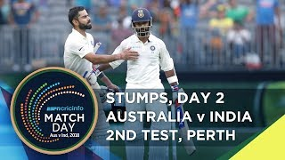 Stumps : 'Australia will have the advantage unless India get a big lead'