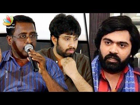 Simbu -வால் நடுத்தெருவில் நிக்கிறேன் : AAA Producer Angry Speech | Director Adhik Ravichandran
