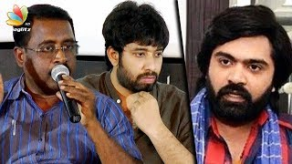 Simbu -வால் நடுத்தெருவில் நிக்கிறேன் : AAA Producer Angry Speech   Director Adhik Ravichandran