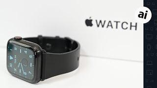 Hands On: Titanium Apple Watch Edition Series 5!