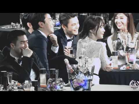 Seo In Guk & Eunji Moments @ TVN10 Awards - Seasons of the Heart
