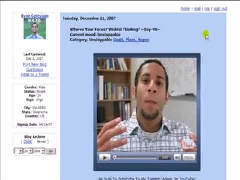 How To Embed YouTube Videos In Your MySpace Blog