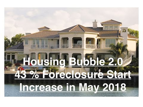 Housing Bubble 2.0 - 43% Foreclosure Start Increase in May - Wow !