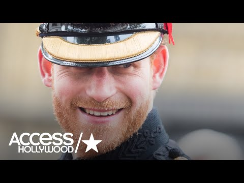 Prince Harry Says He Can't Hide Meghan Markle | Access Hollywood