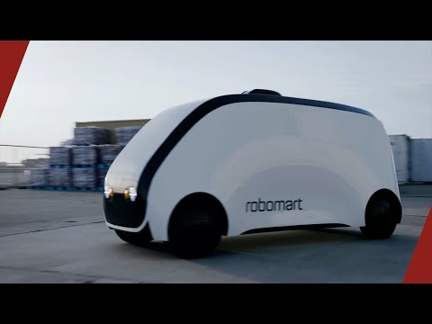 Robomart Is The Driverless Minimart Co-Founded by Tigran Shahverdyan