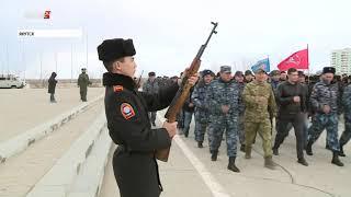 Подготовку ко Дню Победы начали в столице Якутии