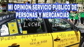 Mi opinión HUELGA DE TAXIS 😤 Transporte Servicio Público MERCANCÍAS🚚 y Viajeros🚕🚌 thumbnail