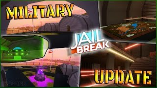 ROBLOX JAILBREAK MILITARY UPDATE TONIGHT // NEW MILITARY BASE + NEW MILITARY PRISON (Part 2)