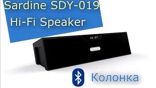 Bluetooth колонка Sardine Sdy-019 - Посылка из Китая (обзор) Aliexpress ep4