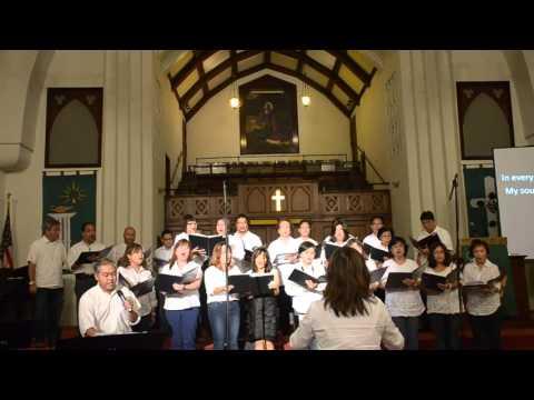 In Christ Alone - Tim & CICC Choir - Jane Benefit