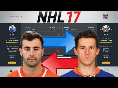 NHL 17 - EBERLE FOR RYAN STROME TRADE SIMULATION