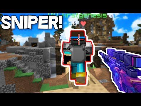 OHA SNİPER MODU! - Minecraft SKYWARS