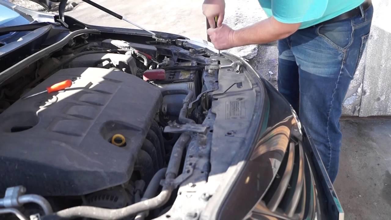 Ремонт бампера Тойота Королла