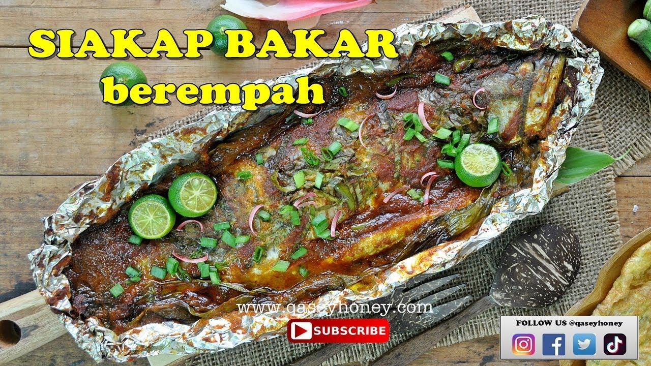 resepi ikan siakap bakar berempah  sedap Resepi Ikan Pisang Bakar Enak dan Mudah