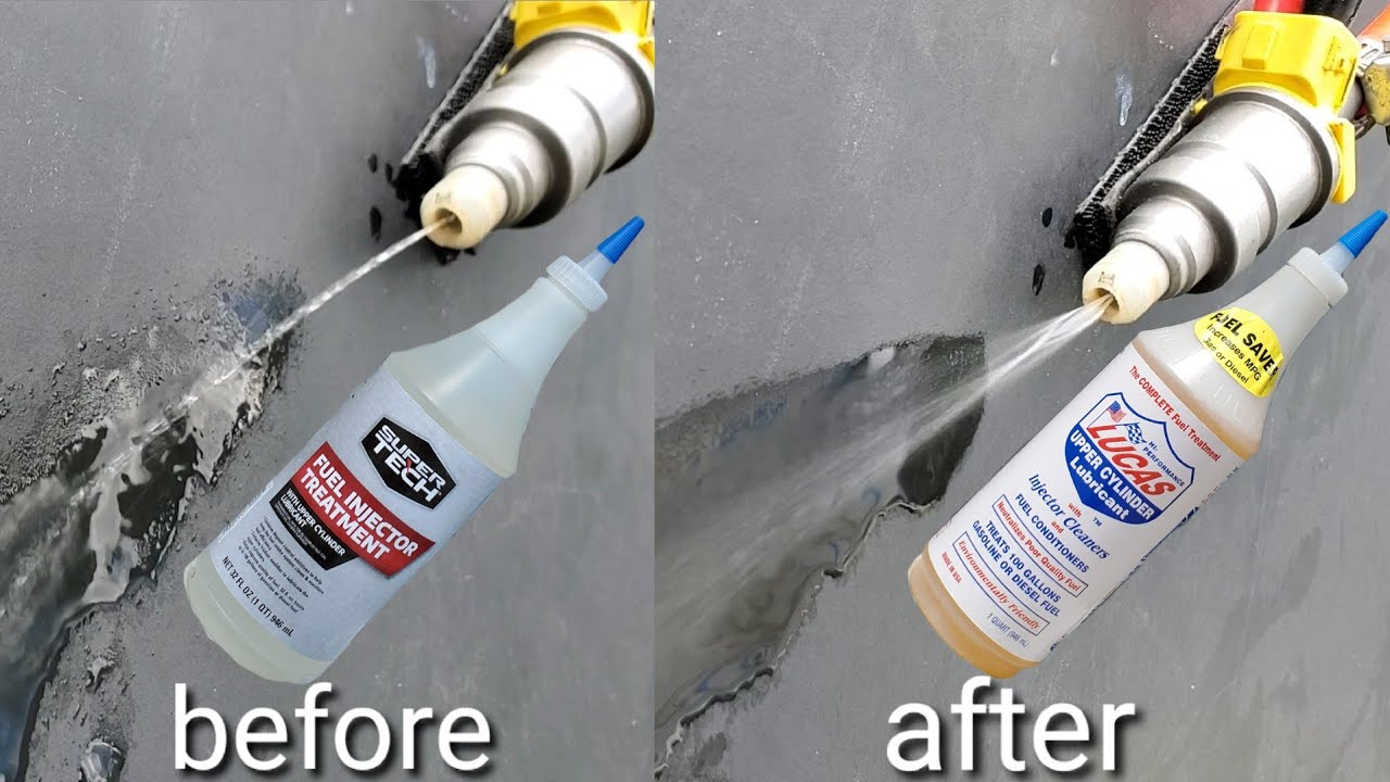 Lucas vs super tech  Fuel injector cleaner!