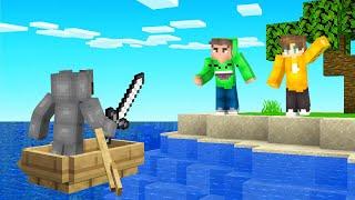 I INVADED My Friends SURVIVAL ISLAND World! (Minecraft)
