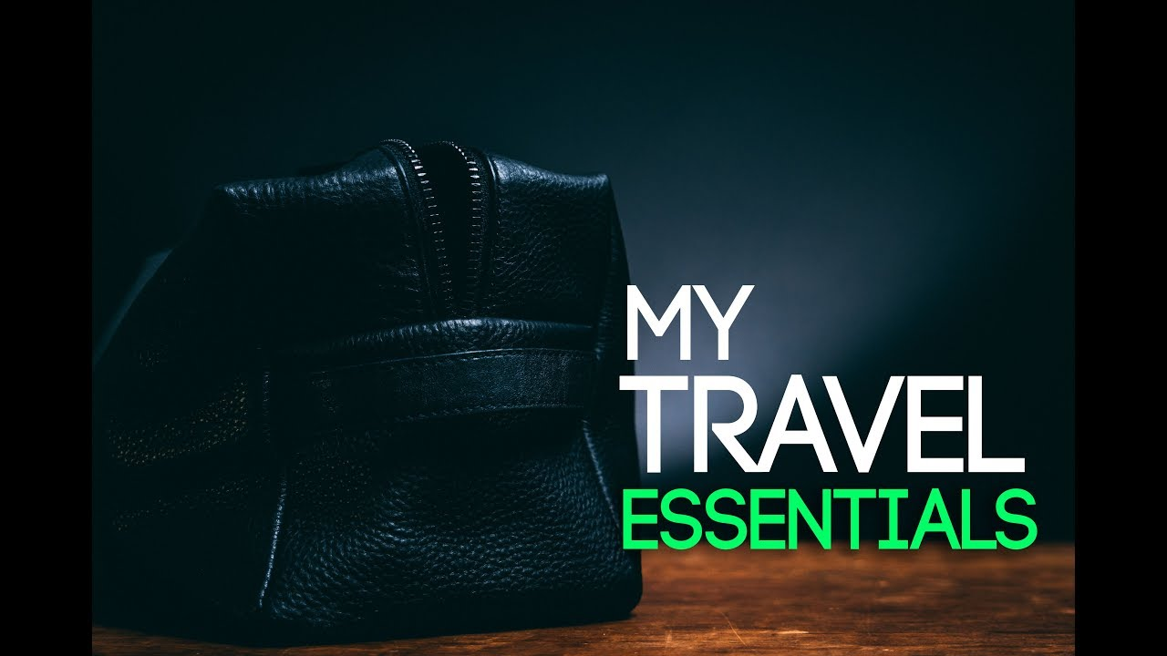 What's In My Dopp Kit? l Men's Travel Grooming Essentials