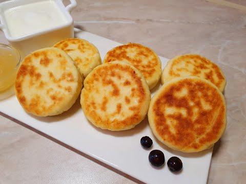 Прекрасный завтрак! Сырники из сыра Рикотта.