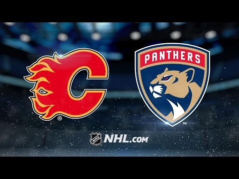 Brouwer, Johnson lift Flames past Panthers, 4-2