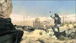MW3: 6 Kills, 1 Throwing Knife! (MUST SEE!)
