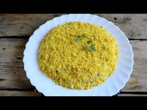 Салат Мимоза настоящий классический рецепт с пошаговым