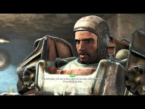 Fallout 4: All Brotherhood of Steel Scenes + Main Quests + Ending(PS4/1080p)