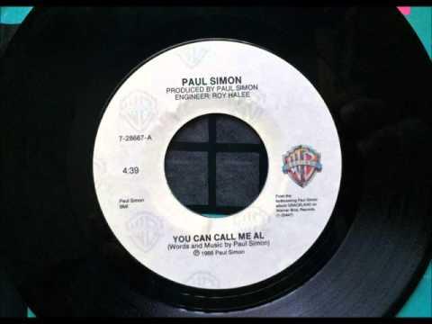 You Can Call Me Al , Paul Simon , 1986 Vinyl 45RPM