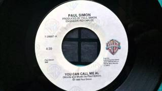 You Can Call Me Al , Paul Simon , 1986 Vinyl 45RPM