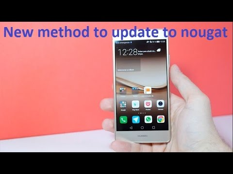 New Method To Update P9 Lite To Android Nougat From Marshmallow