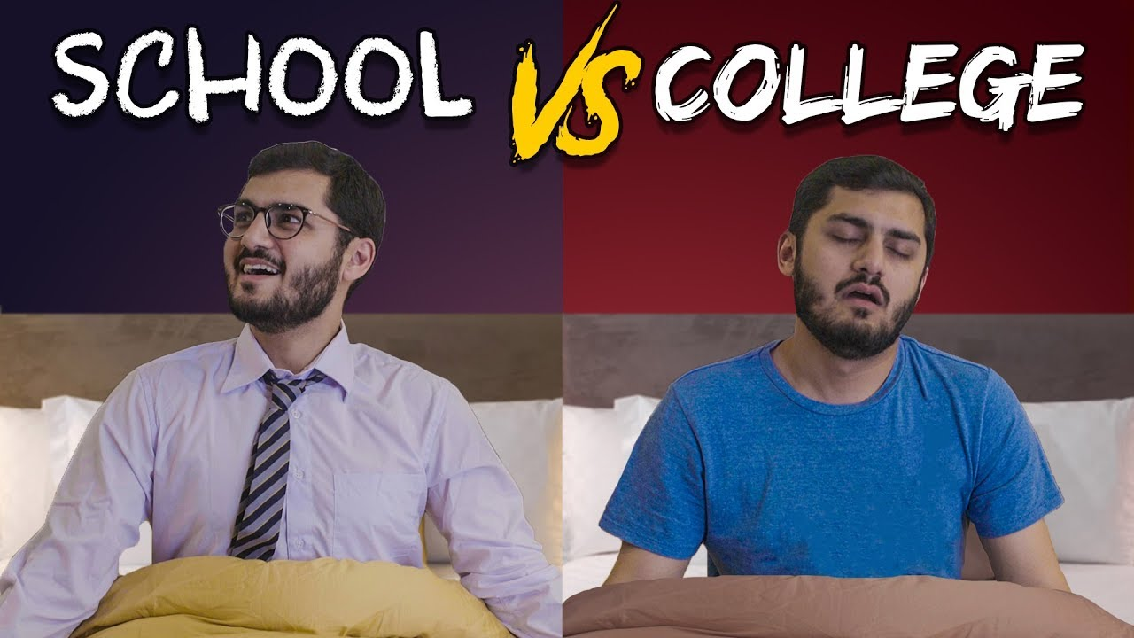 School vs. College   MangoBaaz