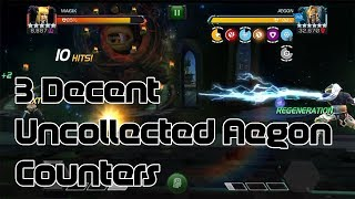 3 Decent Counters to Uncollected Aegon - Marvel Contest of Champions
