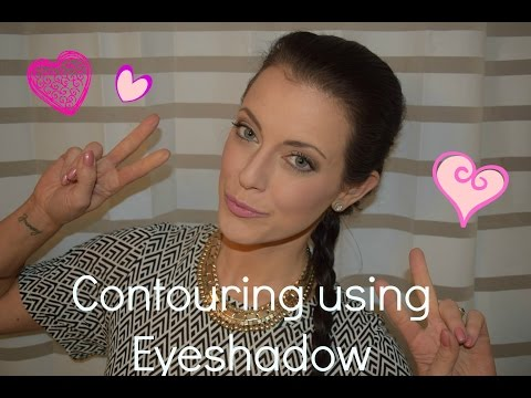 Contouring with Eyeshadow